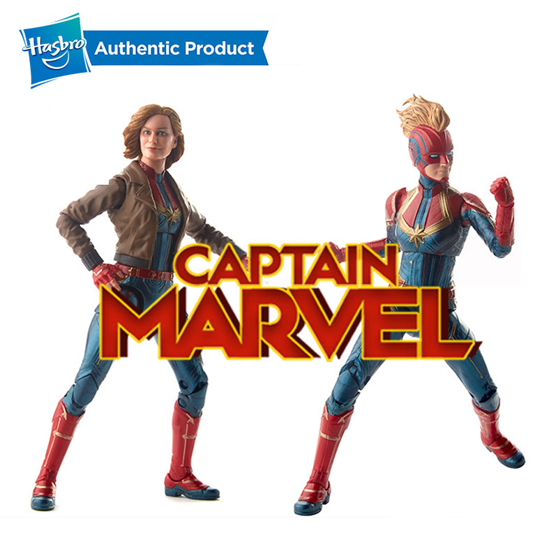 Captain Marvel Movie Cosmic Captain Marvel Super Hero Doll Figures Ages 6 and up