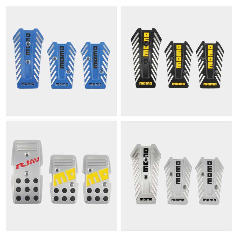 N//A Universal Manual Car Brake Pedal Foot Pedal Non Slip Sport Racing Pedals Black