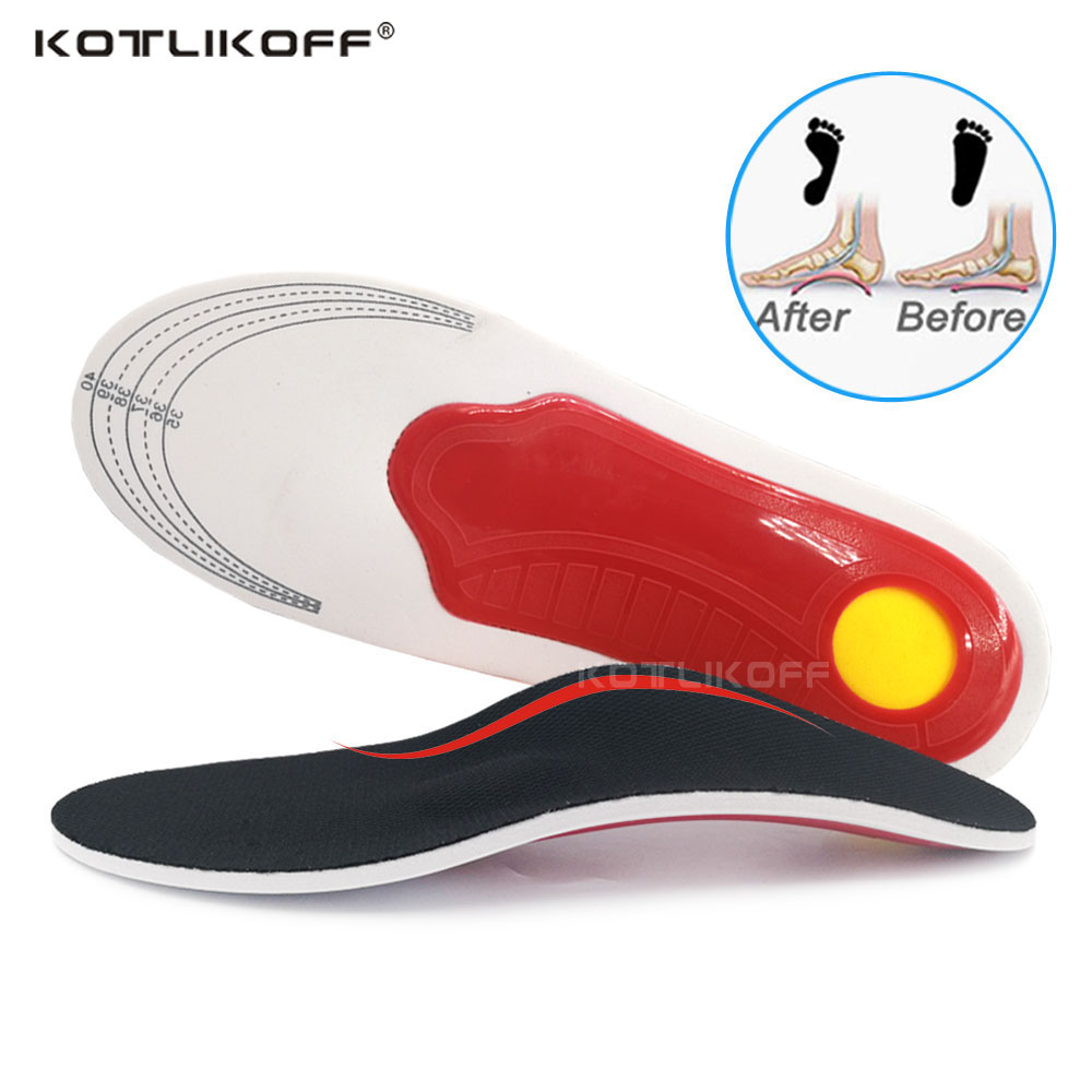 Orthotic Insole EVA Flatfoot Arch Support Orthopedic Insoles To Ease The Pressure Of Air Movement Damping Cushion Padding Insole