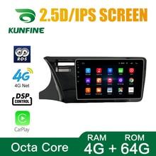 Autoradio per Honda city 2014 2017 Octa Core Android 10.0 Car DVD lettore di navigazione GPS Radio senza ponte unità principale wifi