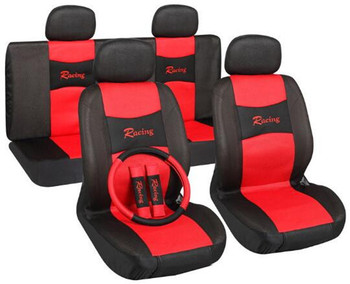New High Quality Universal Car Seat Cover 10 Set Full Seat Covers for Crossovers Sedans Auto Interior Styling Decoration Protect фото
