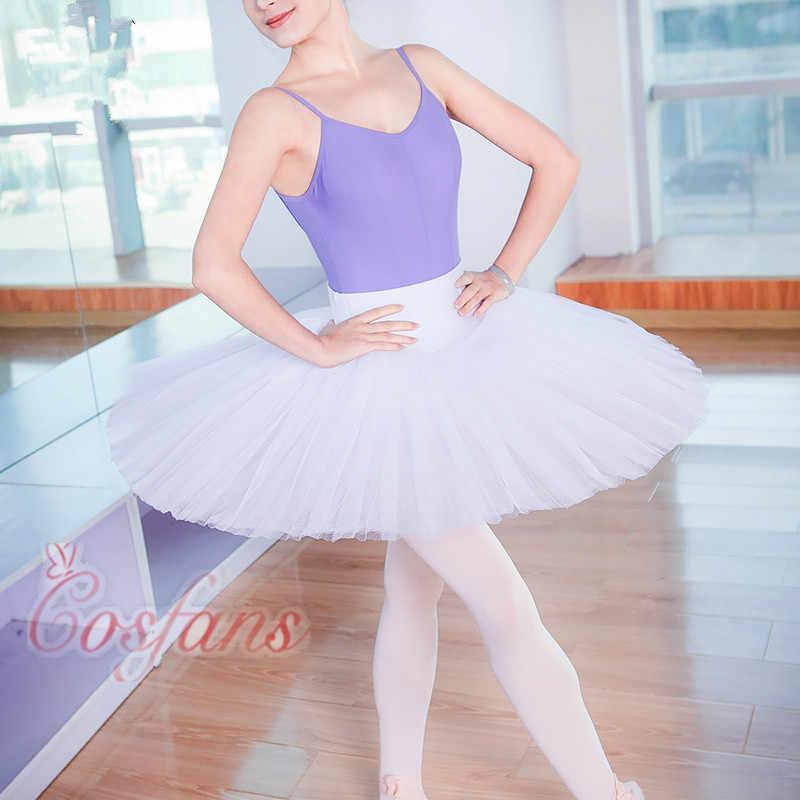 전문 플래터 투투 블랙 화이트 레드 발레 댄스 의상 여성용 투투 발레 성인 발레 댄스 스커트 4 색 신규