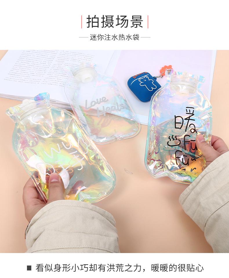 Грелка для рук с героями мультфильмов мини сумка горячей воды