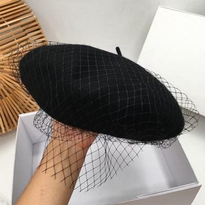 Qiu Dong Yarn Beret Wool...
