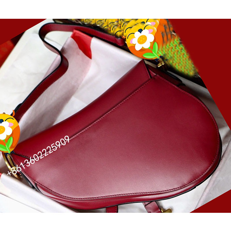 Luxury Women Handbag High Quality Saddle Bag Shoulder Crossbody Bags Real Leather Fashion Female Messenger Lady Bags