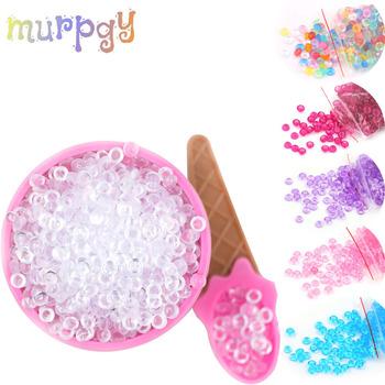 Kolorowe koraliki wszystkie dodatki do szlamów dodatki modelujące glina Fluffy Slimes Charms dostarcza plastry zestawy dla dzieci ozdoba do akwarium rybnego tanie i dobre opinie MURPGY Plasticine 10 kolory Do not eat!!! Plastelina Unisex 3 lat