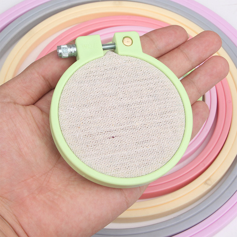 Embroidered Stretch Embroidery Hoops Tool Embroidered Hoop Circles Embroidery Frame Ring Random Color Hand Sewing Accessories|Embroidery| - AliExpress