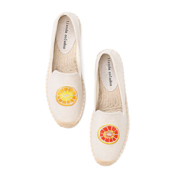 Tienda Soludos Espadrilles For Flat 2019 Real Direct Selling Ballet Flats Hemp Zapatillas Mujer Casual Sapatos  - discount item  33% OFF Women's Shoes