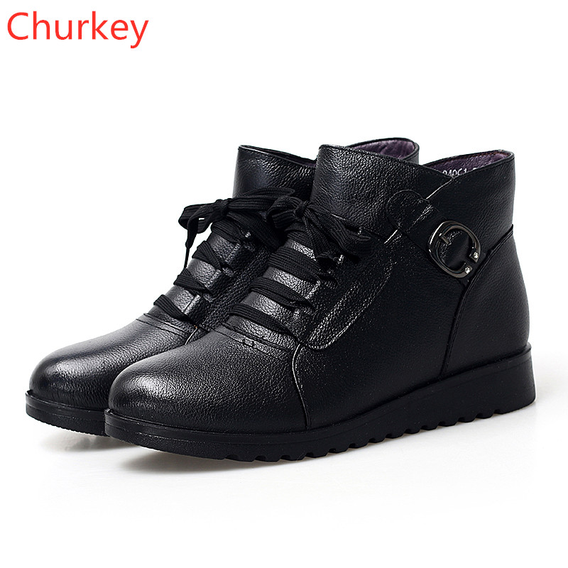 Shoes Women Sports Shoes Ladies Casual Shoes Leather High top Shoes Winter Comfortable Warm Outdoor Sports Shoes Women Sneakers in Women 39 s Vulcanize Shoes from Shoes