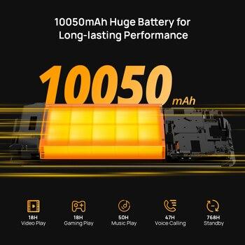 DOOGEE S59 Pro Smartphone 10050mAh Super Battery IP68/IP69K 4+128GB NFC Rugged Smart phone 2W Loud Volume Speaker Cellphones 2