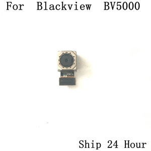 Image 1 - Blackview BV5000 back rear camera Used Original phone repair parts replacement for Blackview BV5000 Phone free shipping