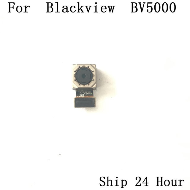 Blackview BV5000 back rear camera Used Original phone repair parts replacement for Blackview BV5000 Phone free shipping