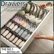 Gavetas organizador caixa de armazenamento para sutiã meias calcinha caixa quarto caixas armário roupa interior organizador gaveta divisor caixa