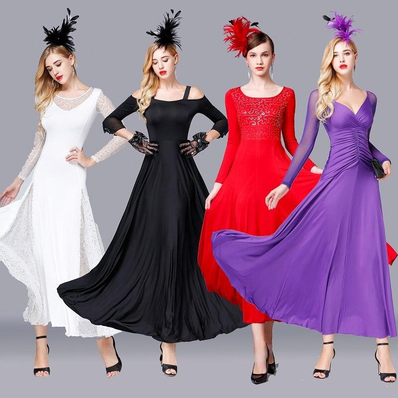 Fashion Ballroom Dance Dress For Women Waltz Standard Dance Tango Foxtrot Practice Wear Ladies Rave Performance Clothing DC3613