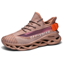 Men Running Shoes Comfortable Sports Outdoor Sneakers Male Athletic Breathable Footwear Luminous Walking Jogging Coconut Shoes