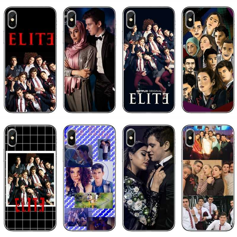 TV Series Elite Phone Cover Case untuk Samsung Galaxy A10 A30 A40 A50 A60 A70 A6s A8 A9s J4 J6 prime Plus 2018