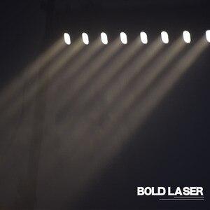 Image 4 - Led ruchoma głowica pokaz laserowy projektor świetlny 8 głowa czerwona wiązka tłuszczu 3w Bar Dj na wieczór muzyczny, teatr, Pub