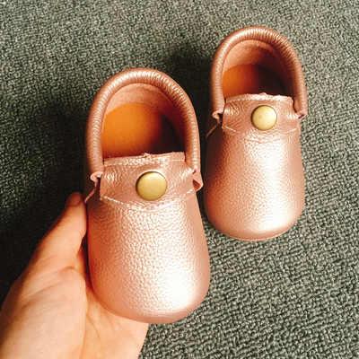 חם תינוק נעליים חדש סתיו/אביב יילוד בני בנות נעליים פעוטה עור אמיתי תינוק מוקסינים Leopard מקרית סניקרס 0 -18M