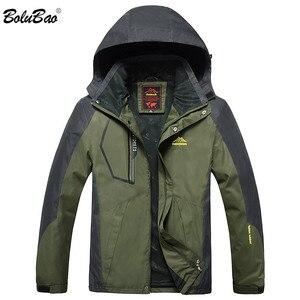 Image 2 - BOLUBAO חדש גברים מעילי מעילי חורף מותג גברים של אופנה מזדמן עבה חם מעיל זכר Windproof עמיד למים חיצוני מעיל