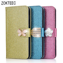 ZOKTEEC High quality Fashion Bling PU Flip Leather Cover For Doogee X5/ X5 Pro Case TPU For Doogee X5 Max Case