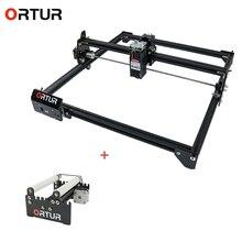 Nouvelle Promotion ORTUR Laser Master 2 + rouleau rotatif Machine de gravure Laser avec Ortur YRR2.0 meilleur prix dernier graveur Laser