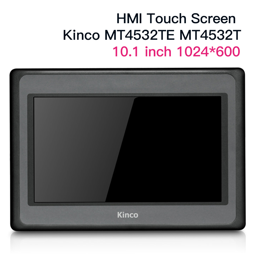 New 10'' Inch Kinco MT4532TE MT4532T HMI Touch Screen 65k Colors 1024*600 Ethernet Port Human Machine Interface Panel Data Cable