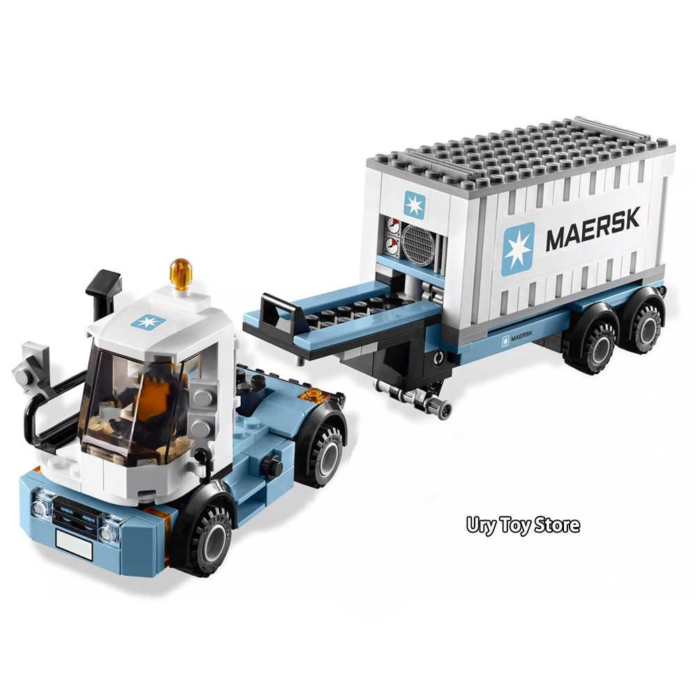 Ekspert ostateczny Maersk Train i Emerald Night zestaw z figurki klocki zabawki dla dzieci prezent Fit Legoness Technic data data powrotu (