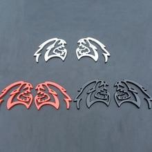 Per Dodge Ram Challenger HELLCAT Emblema Parafango auto corpo in metallo Della Decalcomania accessori per auto in grado di bloccare auto graffi