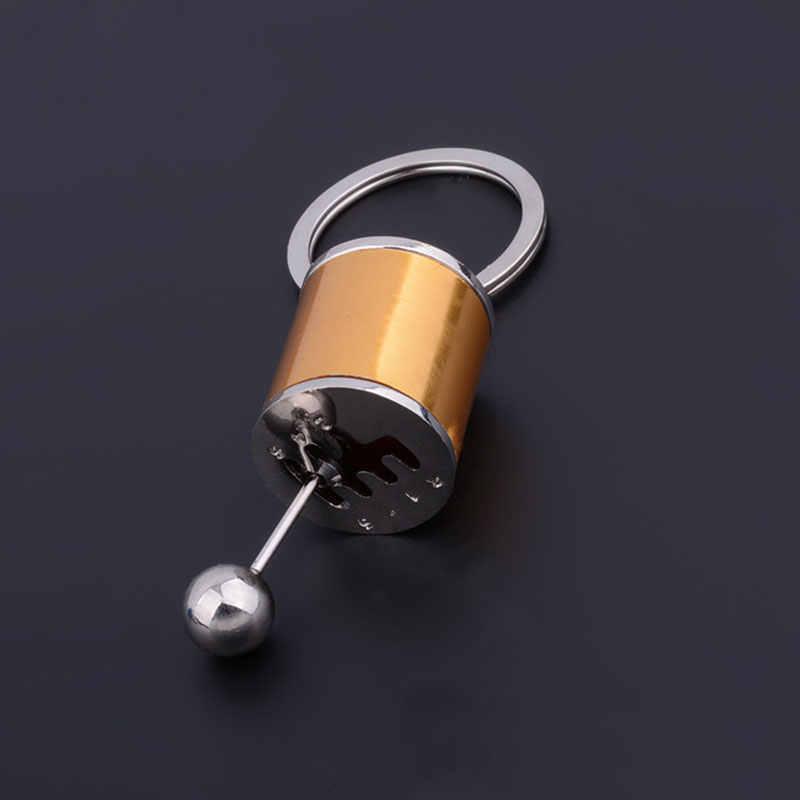 Breloczek do kluczy Fob brelok kreatywny samochód 6 skrzynia biegów przekładnia zmiany biegów Tuning Model brelok AIC88