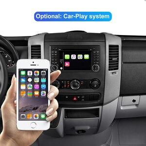 Image 3 - Isudar車マルチメディアプレーヤー2 din android 10ステレオメルセデス ·/ベンツ/スプリンター/W169/B200/bクラスの車のdvdラジオgps dsp
