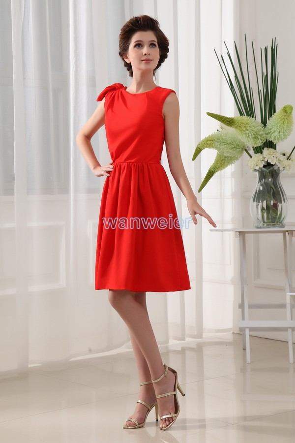 Free Shipping 2016 New Design Red Prom Brides Maid Dresses Short High Quality Sexy Real Dress Real Picture Bridesmaid Dresses
