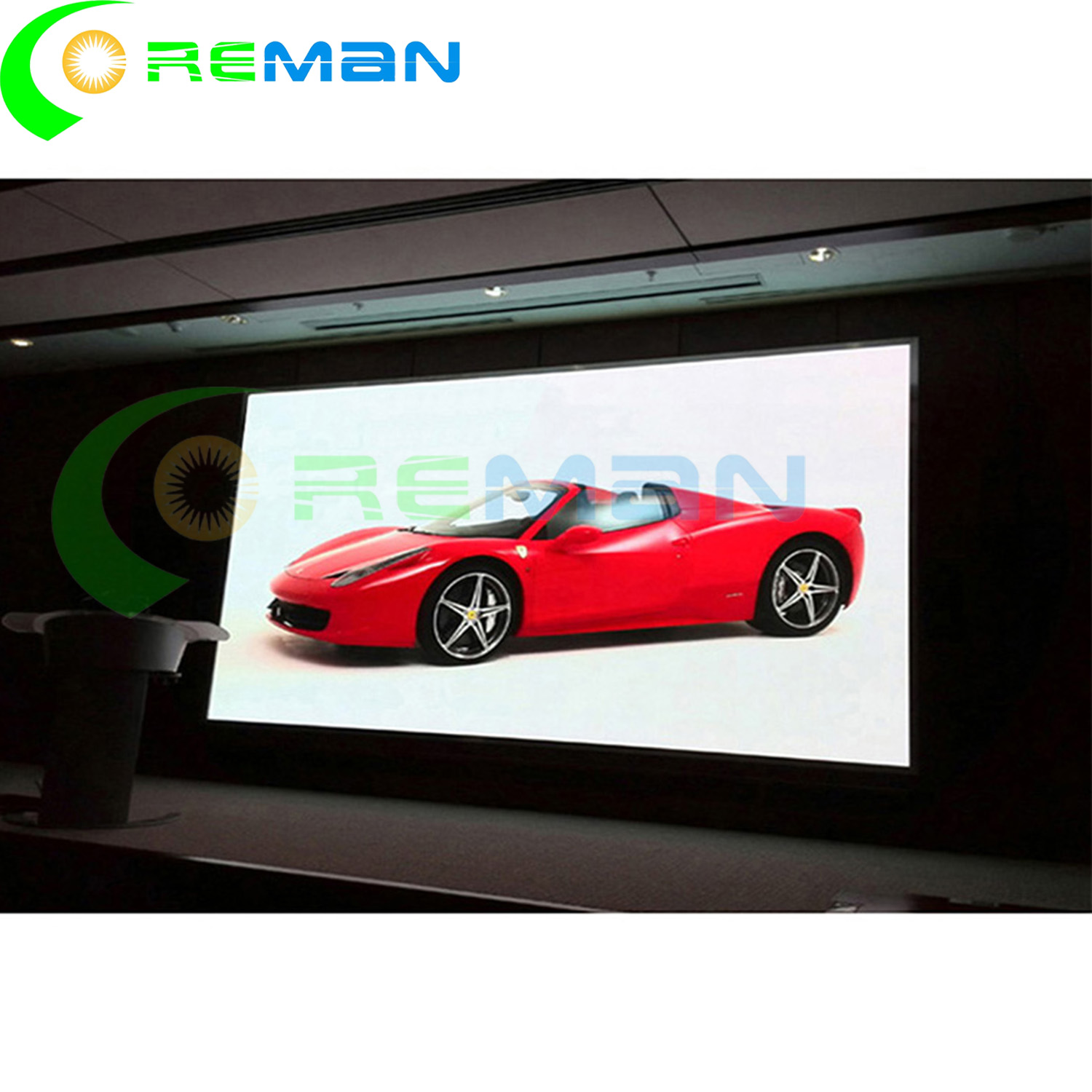 2k 4k TV grande led vídeo Pared p4.81 pantalla interior panel led