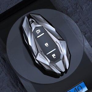 Image 4 - Car Smart Key Case Shell Cover Keychains Fob For Chevrolet Chevy Camaro Cruze Malibu Orlando EquinoxTracker 2017 Car Accessories