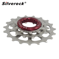 Bike freewheel External 3 Speed For Brompton 3Sixty Folding Bke 11t 14t 19t Bicycle Chainwheel Cog Cassette Chrome Sprocket 46g