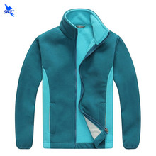 2019 Autumn Polar Fleece Kids Outdoor Jackets Winter Thermal Long Sleeve Sportswear Hiking Coat Boys Girls Cardigan Sweatshirts(China)