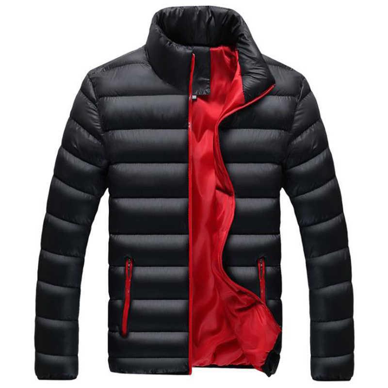 New store sale 2019 겨울 자켓 파카 남성 가을 겨울 따뜻한 아웃웨어 브랜드 슬림 남성 코트 캐주얼 자켓 남성 플러스 사이즈 M-6XL