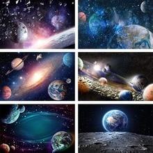 Mehofond צילום רקע שמי זרועי הכוכבים ירח לילה כוכב מבריק גליטר כדור הארץ יקום Photophone רקע תמונה סטודיו
