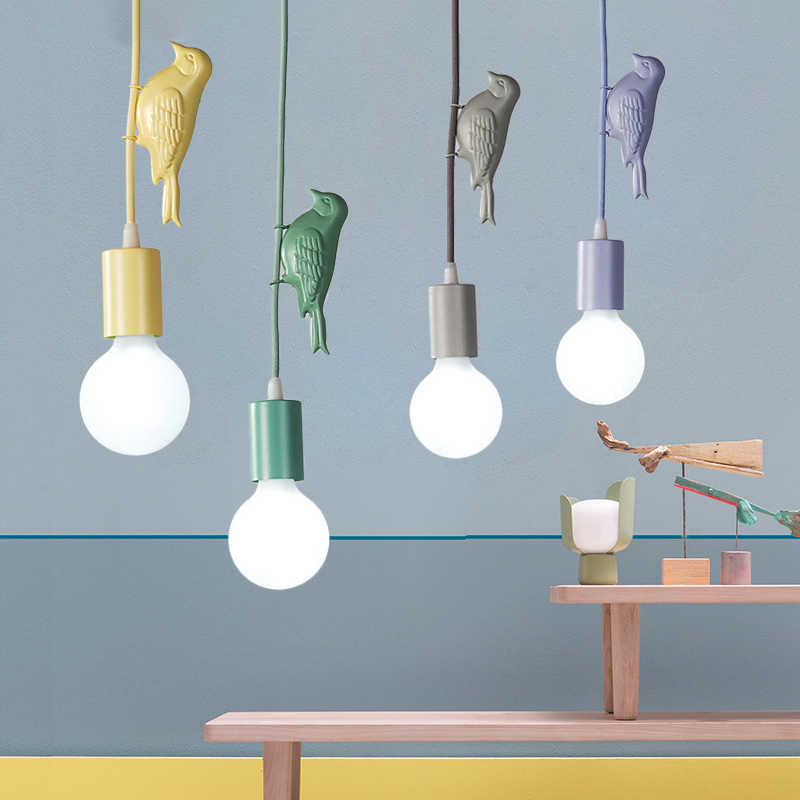 Modern Multicolor Led Pendant Lights