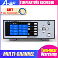 A-BF Многоканальный регистратор температуры TFT цветной экран температура давление тока промышленного класса записывающий прибор