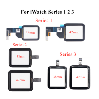 Touch Screen Digitizer for Apple Watch Series 1 2 3 38mm 42mm Touch Screen Glass Sensor Replacement Parts For iwatch 1 2 3 Glass image