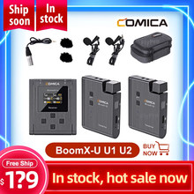 Micrófono inalámbrico boomx-u U1 U2, Mini UHF multifuncional, transmisión a distancia VS Rode Go Lavalier
