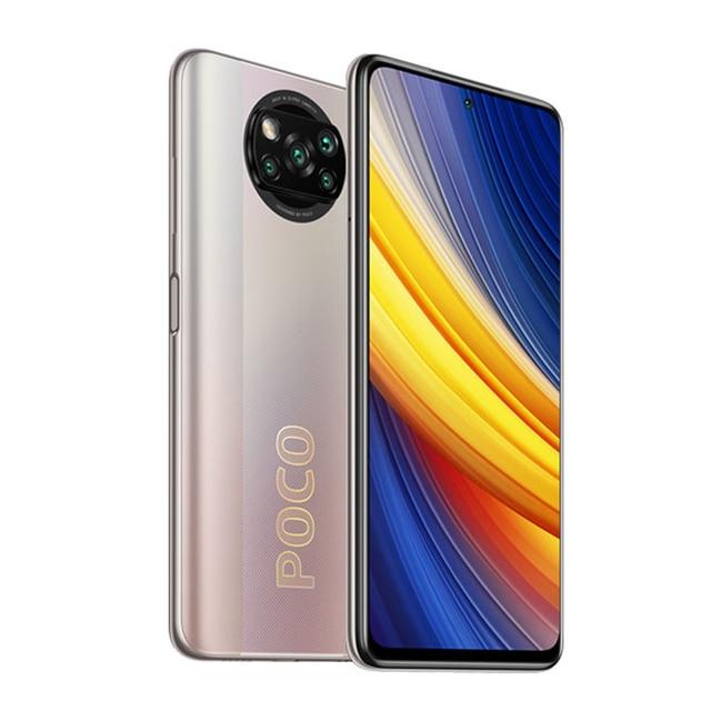 Poco X3 Pro 8GB 256GB 6GB 128GB Global Version Smartphone Xiaomi Smartphone Cellphone Xiaomi 4