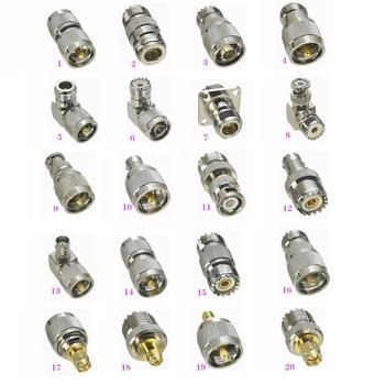 1Pcs UHF PL259 SO239 to N / BNC / UHF / SMA  Male plug & Female jack RF Coaxial Adapter connector Test Converter free shipping n type n kk n female to n female dual pass connector rf coaxial connectors convert adapter 10pcs lot