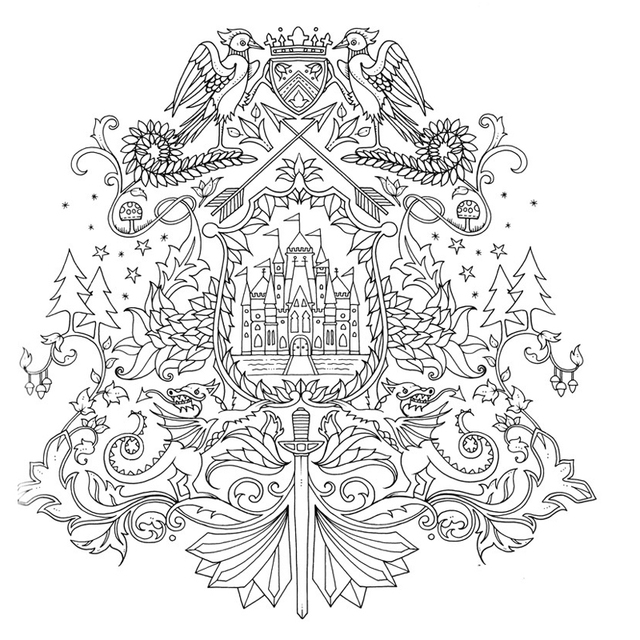 - Best Deal #154bb - 24 Pages English Edition Enchanted Forest Coloring Books  For Adults Children Anti Stress Painting Drawing Art Colouring Book  Cicig.co