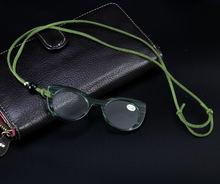 Новинка 2020 кулон ожерелье очки для чтения женская мода зеркальные
