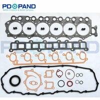 TB45 Engine Overhaul Rebuilding Gasket Kit 10101 VB085 for Nissan Patrol GR/Forklift/Safari/Y61 4478cc 4.5L 12V|Engine Rebuilding Kits| |  -