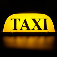 Taxi lamp yellow light source taxi roof car puller
