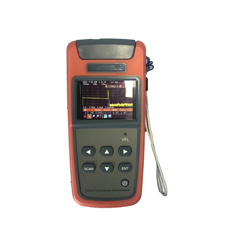 OTDR JW3305A Optical Time Domain Reflectometer SM 60KM 1mW VFL Fiber find fault tester with FC/PC Connector image
