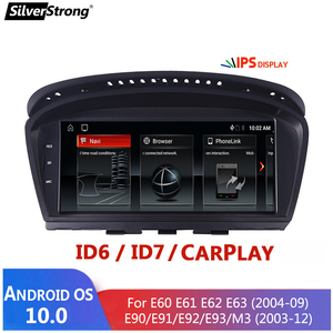 Image 1 - Android 10,E60 Android, odtwarzacz multimedialny dla BMW serii 5, E60 E61 E63 E64 E90 E91 E92,525 530,CCC CIC,iDrive, uchwyt na aparat 720P