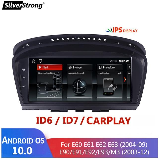 Android 10,E60 Android, odtwarzacz multimedialny dla BMW serii 5, E60 E61 E63 E64 E90 E91 E92,525 530,CCC CIC,iDrive, uchwyt na aparat 720P